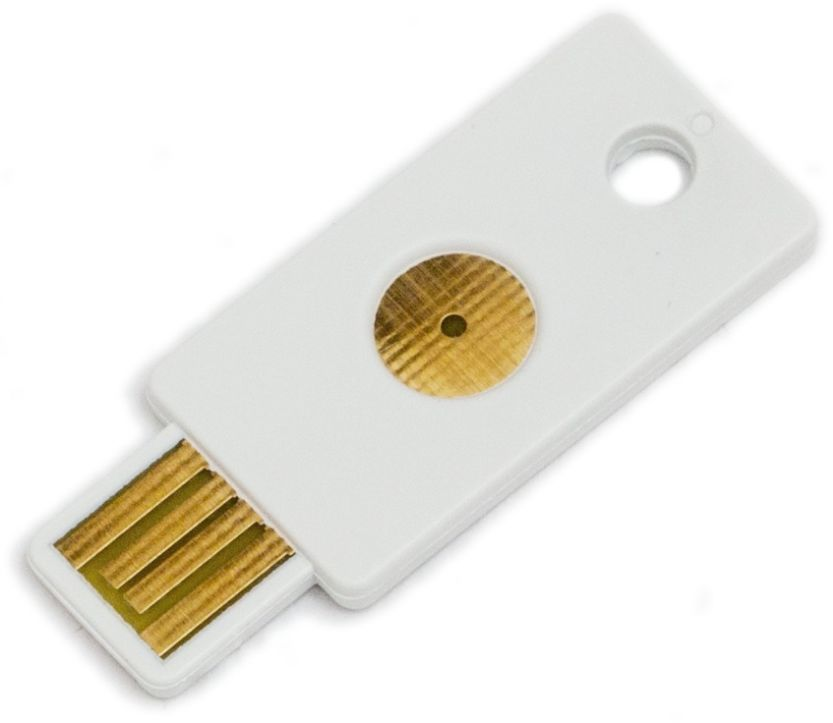 yubikey white with lastpass