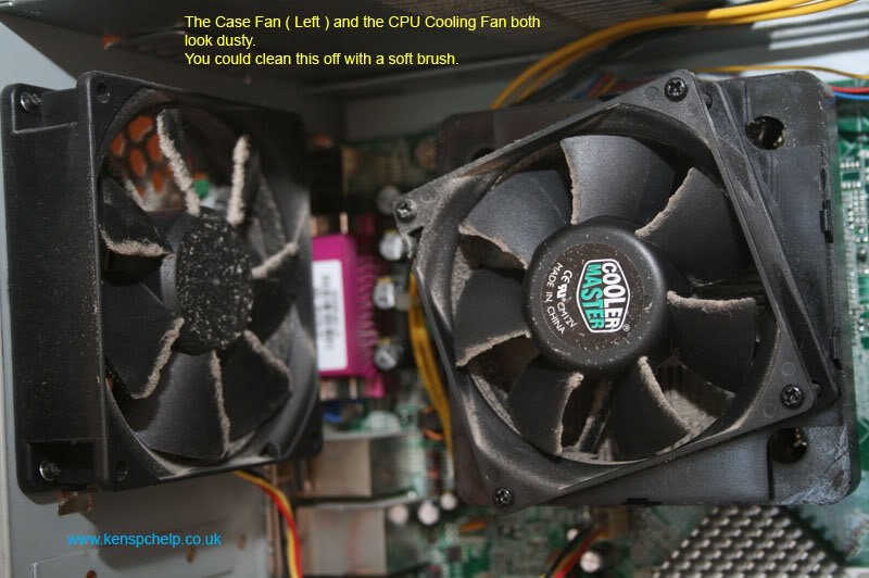 What is Inside My Computer Cooling Fan