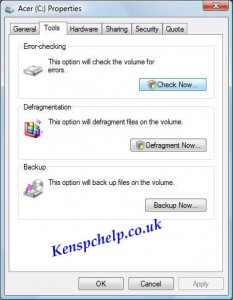 check hard drive for errors 4