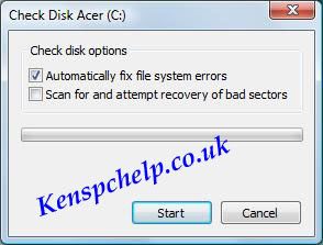 check hard drive for errors 6